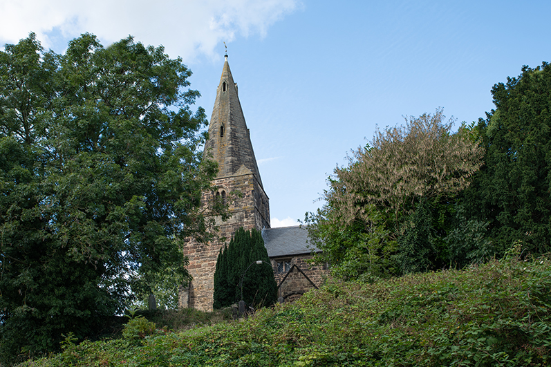 A view of St. Giles' Church, Sandiacre