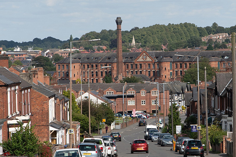 A view of Sandiacre from Derby Road